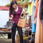 Student Charity Shop Bargain Hunting